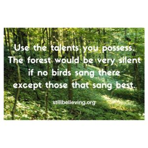 use-the-talents-you-possess